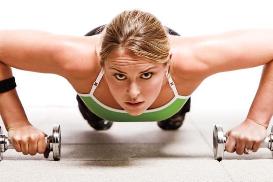 female strength training exercises